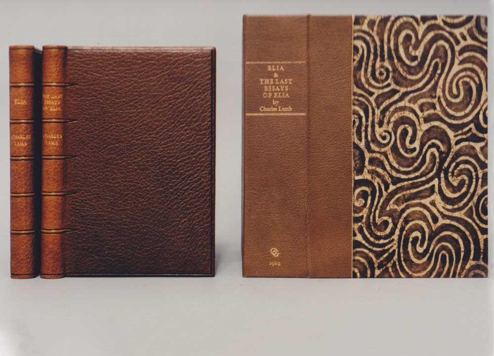 Elia and The Last Essays of Elia, by Charles Lamb